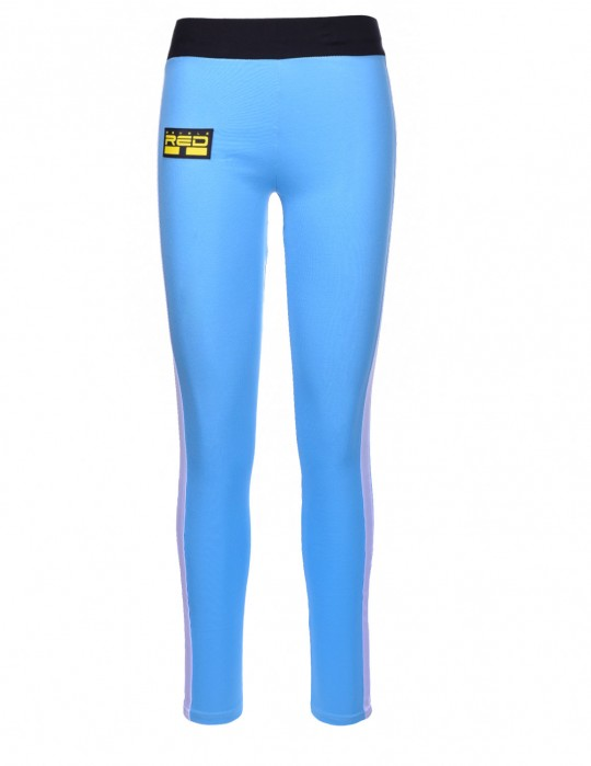 Leggins SPORT IS YOUR GANG 3D Logo Blue/Black