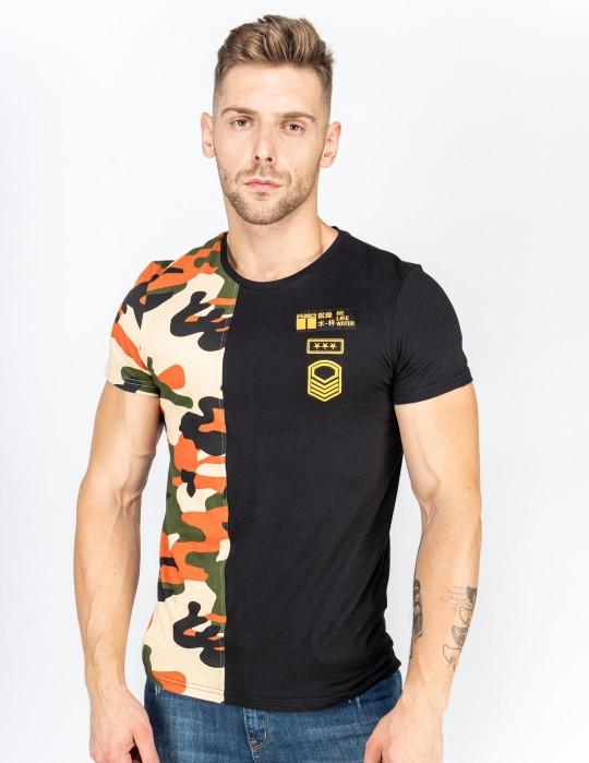 T-Shirt SOLDIER KUNG FU MASTER Black