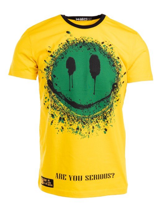 T-Shirt HIKARI Kung-fu Master Fun edition Yellow