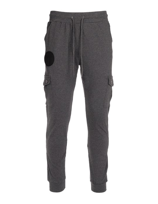 Sweatpants Side Pocket Grey