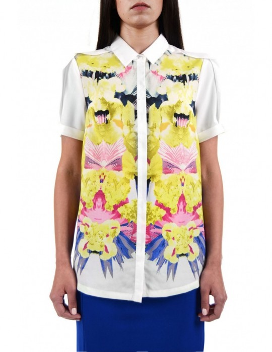 SELEPCENY FLORAL SHIRT