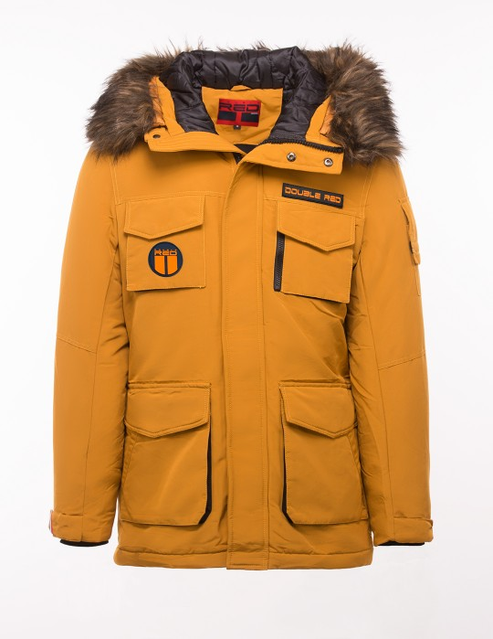 QUANTUM Parka Edition Tricolori Yellow