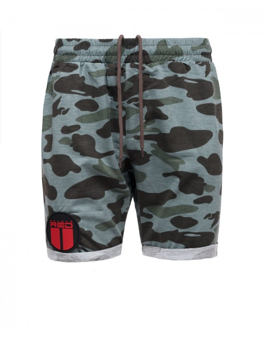 SOLDIER Shorts Mint Grey Camo
