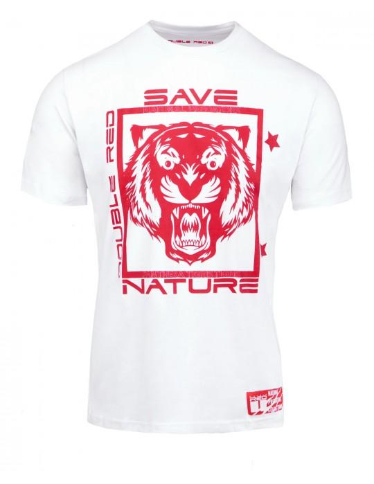Natural Predators Tiger T-Shirt White