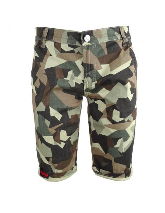 Limited DR M Green Camo Bermuda Shorts