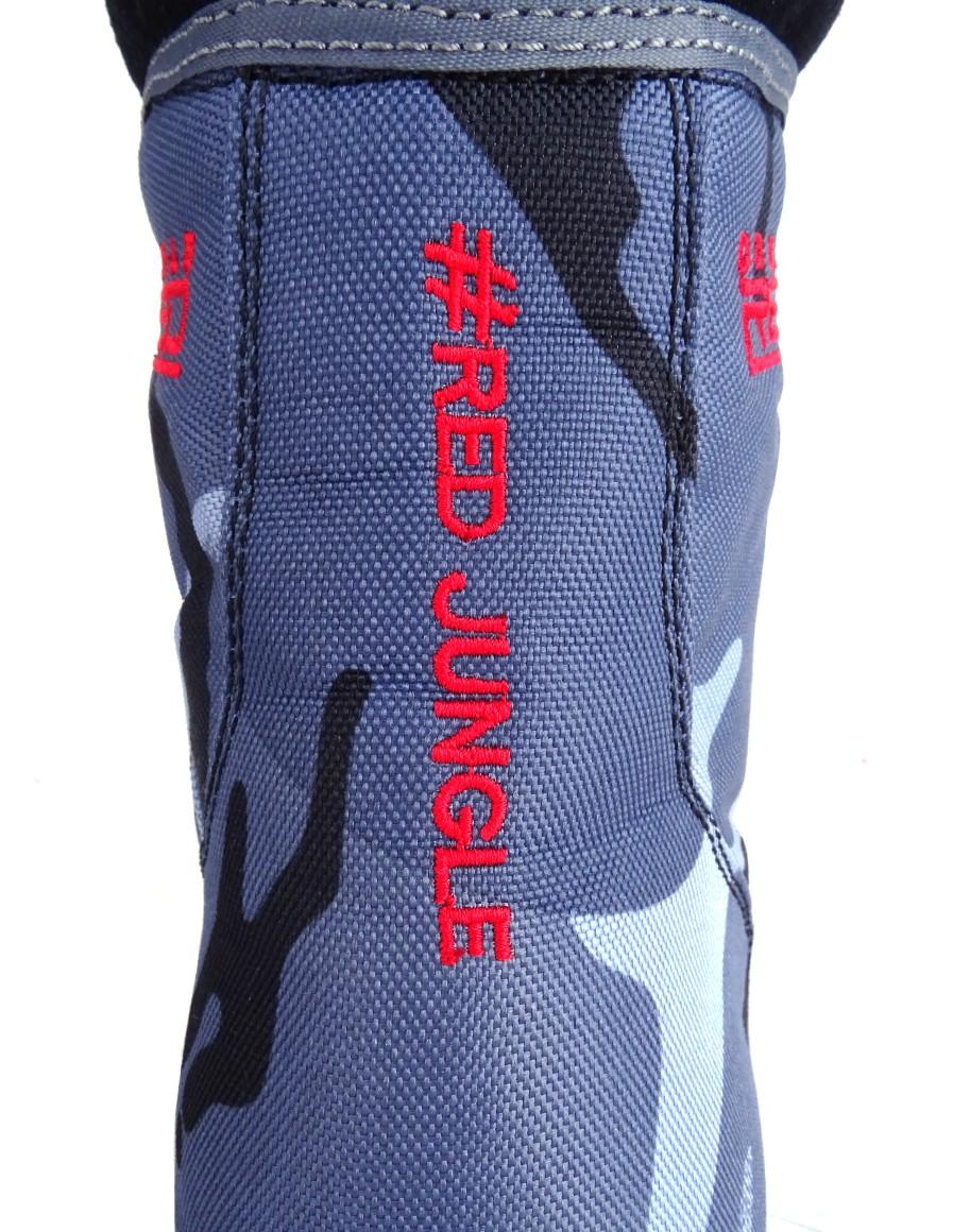 Boots Red Jungle Black/Blue Camo