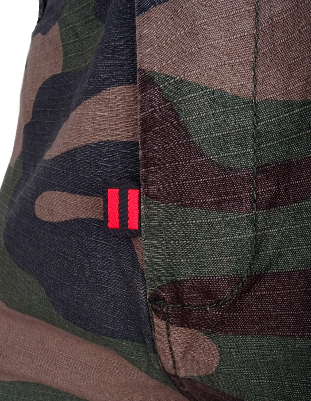 DR M Cargo Pants Camo Green