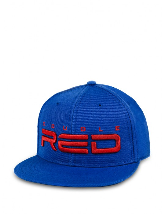 REDKID Snapback DOUBLE RED Cap Blue