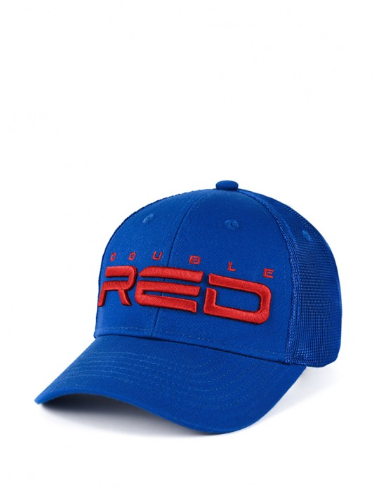 DOUBLE RED Airtech Mesh Cap Blue