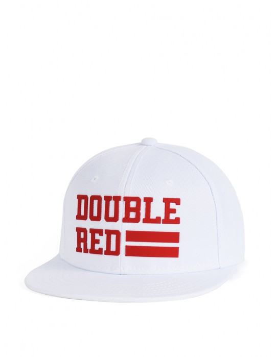 Snapback Cap UNIVERSITY OF RED White/Red