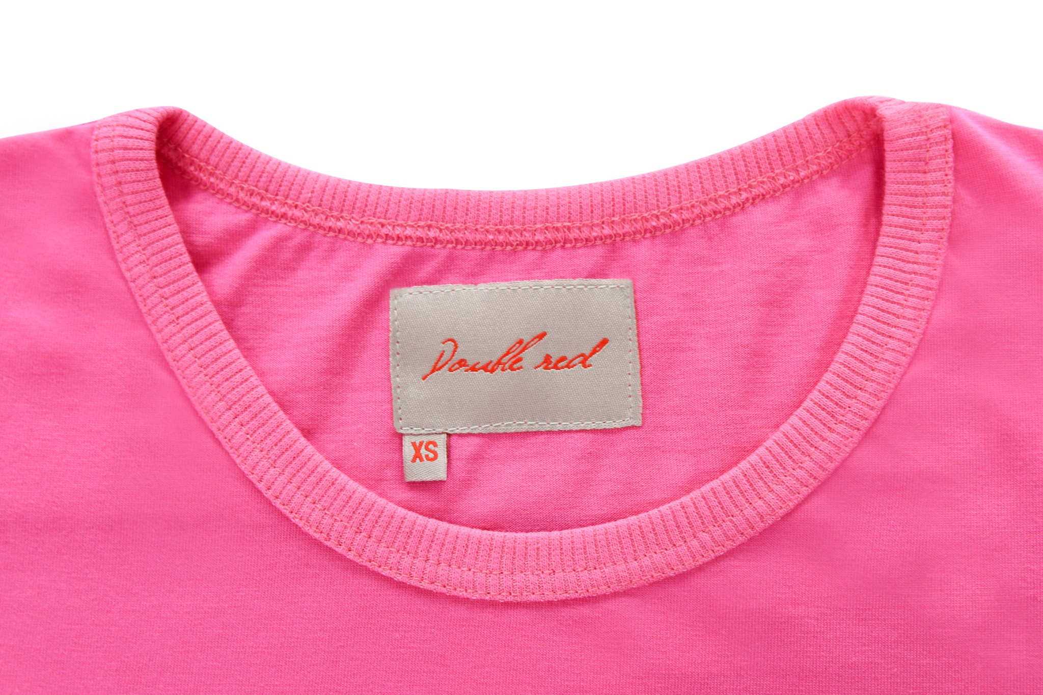 DOUBLE RED Trademark T-shirt Pink