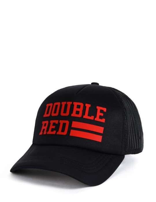 Trucker Czapka UNIVERSITY OF RED Black/Red