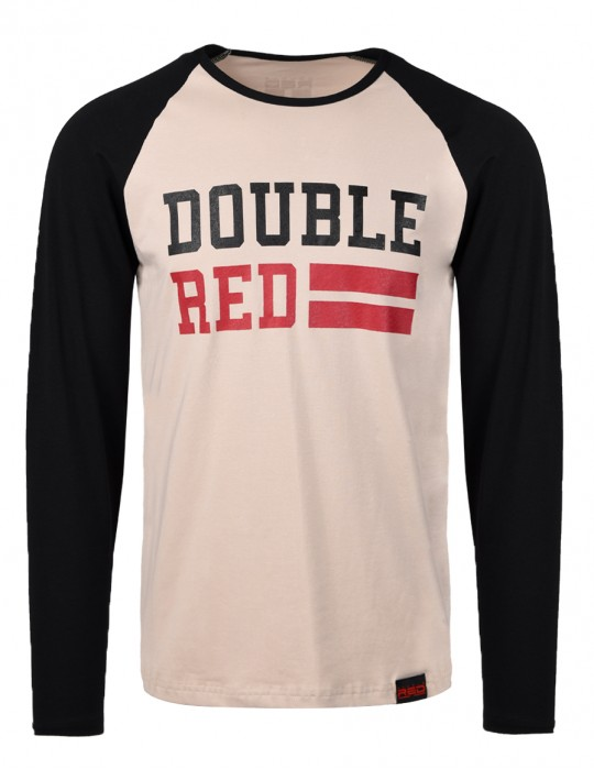 UNIVERSITY OF RED Bicolore long sleeve T-shirt