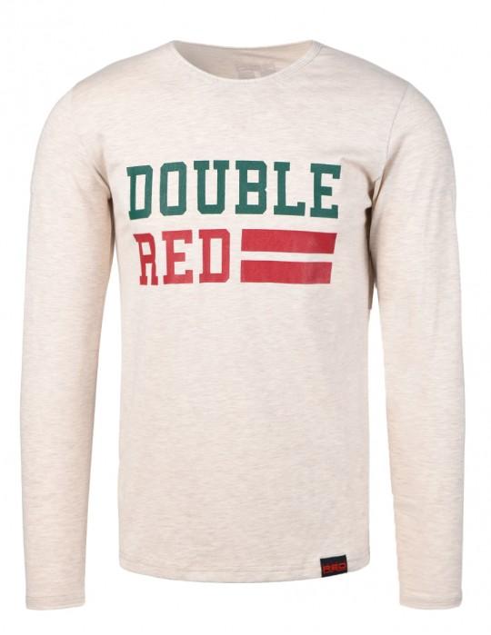 UNIVERSITY OF RED long sleeve T-shirt