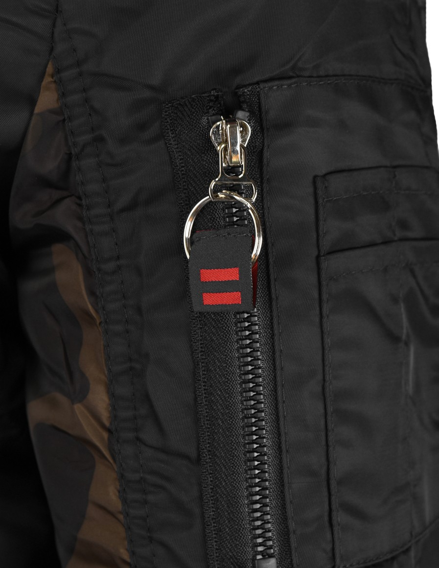 Street Hero Bomber Jacket Black