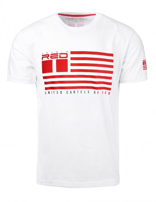 United Cartels Of Red UCR T-shirt White