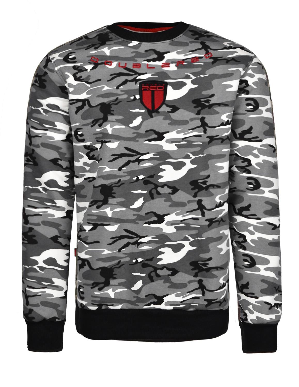 Soldier Sweatshirt BW Camo