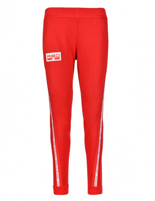 Spodnie Sweatpants EMINENCE All Logo Red