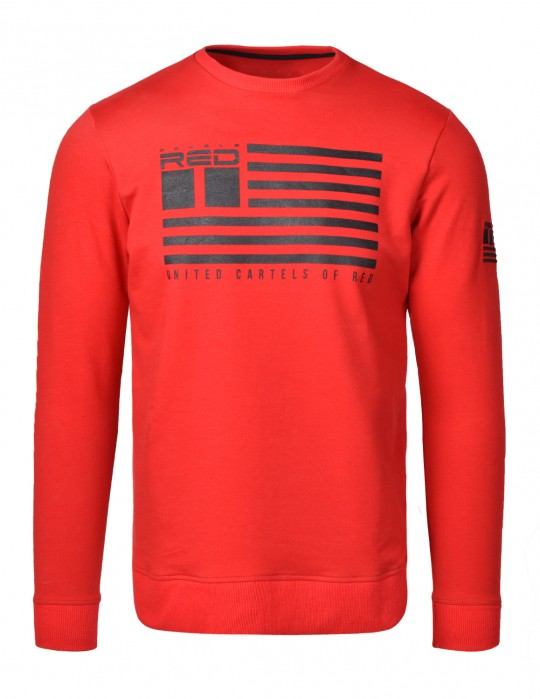 Bluza United Cartels Of Red UCR Red Sweatshirt