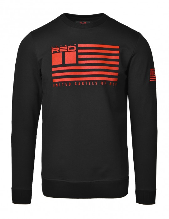 Bluza United Cartels Of Red UCR Black Sweatshirt