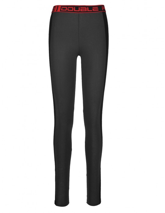 Leginsy RED LEGGINS Dark Grey