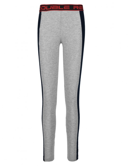 Leginsy RED LEGGINS Grey