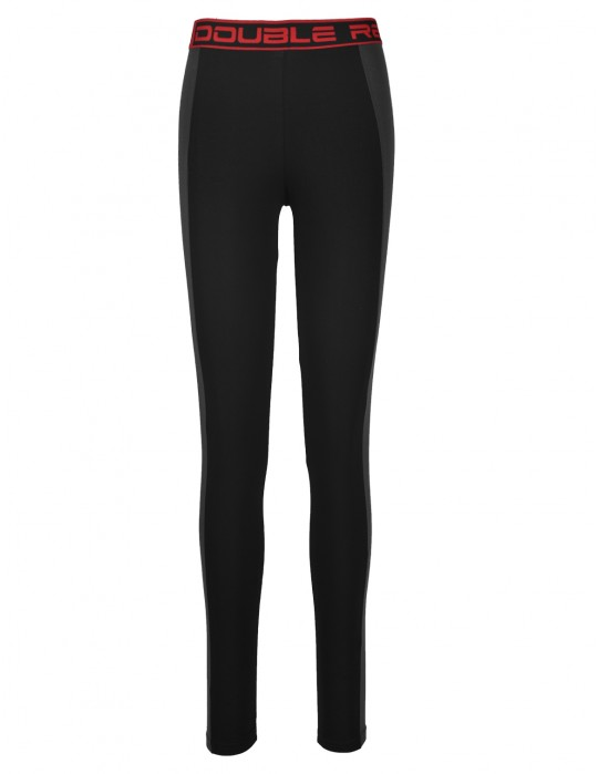 Leginsy RED LEGGINS Black