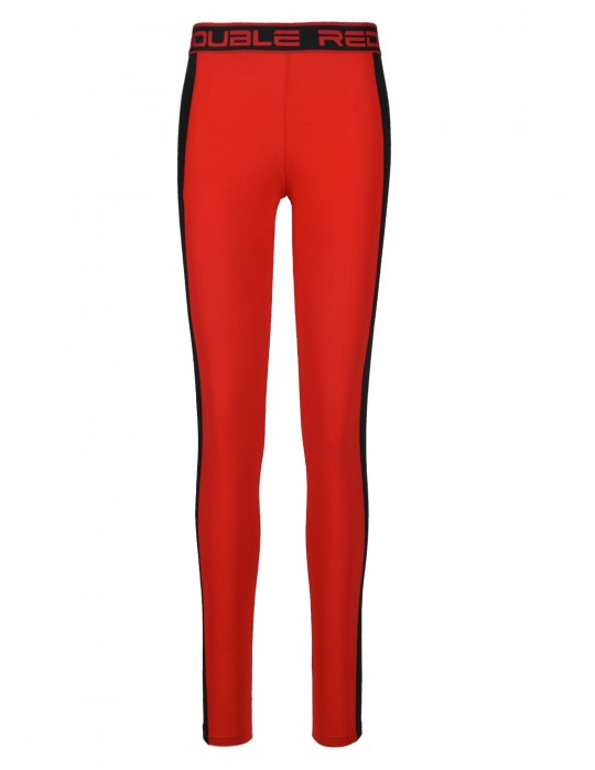 Leginsy RED LEGGINS Red