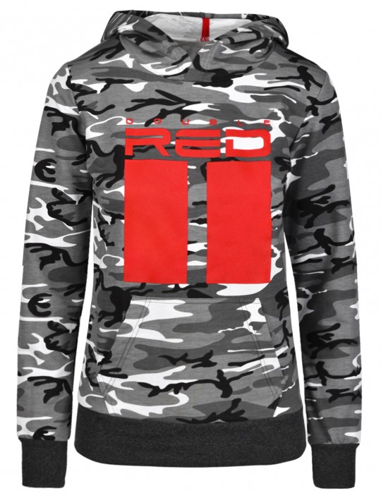 Bluza Sweatshirt All Logo B&W Camo
