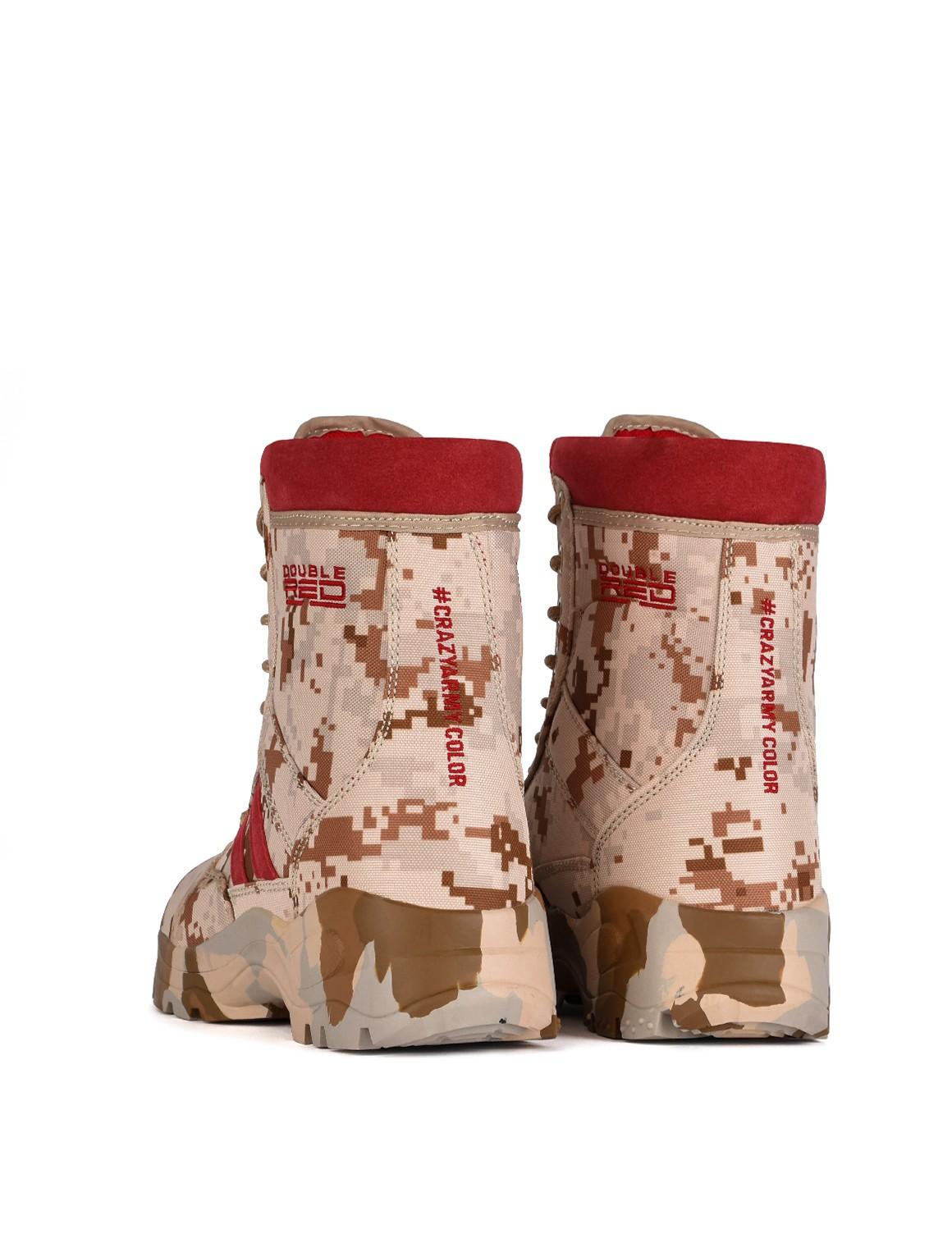 Boots Red Jungle Digital