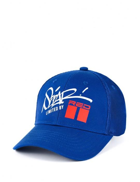 SEPAR Graffiti Blue Cap