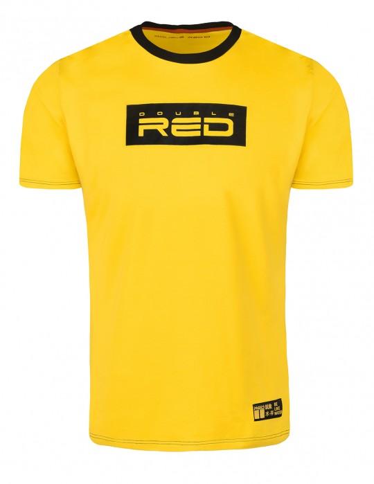 T-shirt LOGO VISION KUNG FU Master Yellow