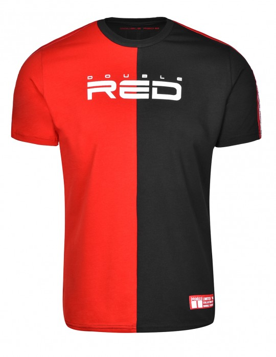 T-shirt DOUBLE FACE Red/Black