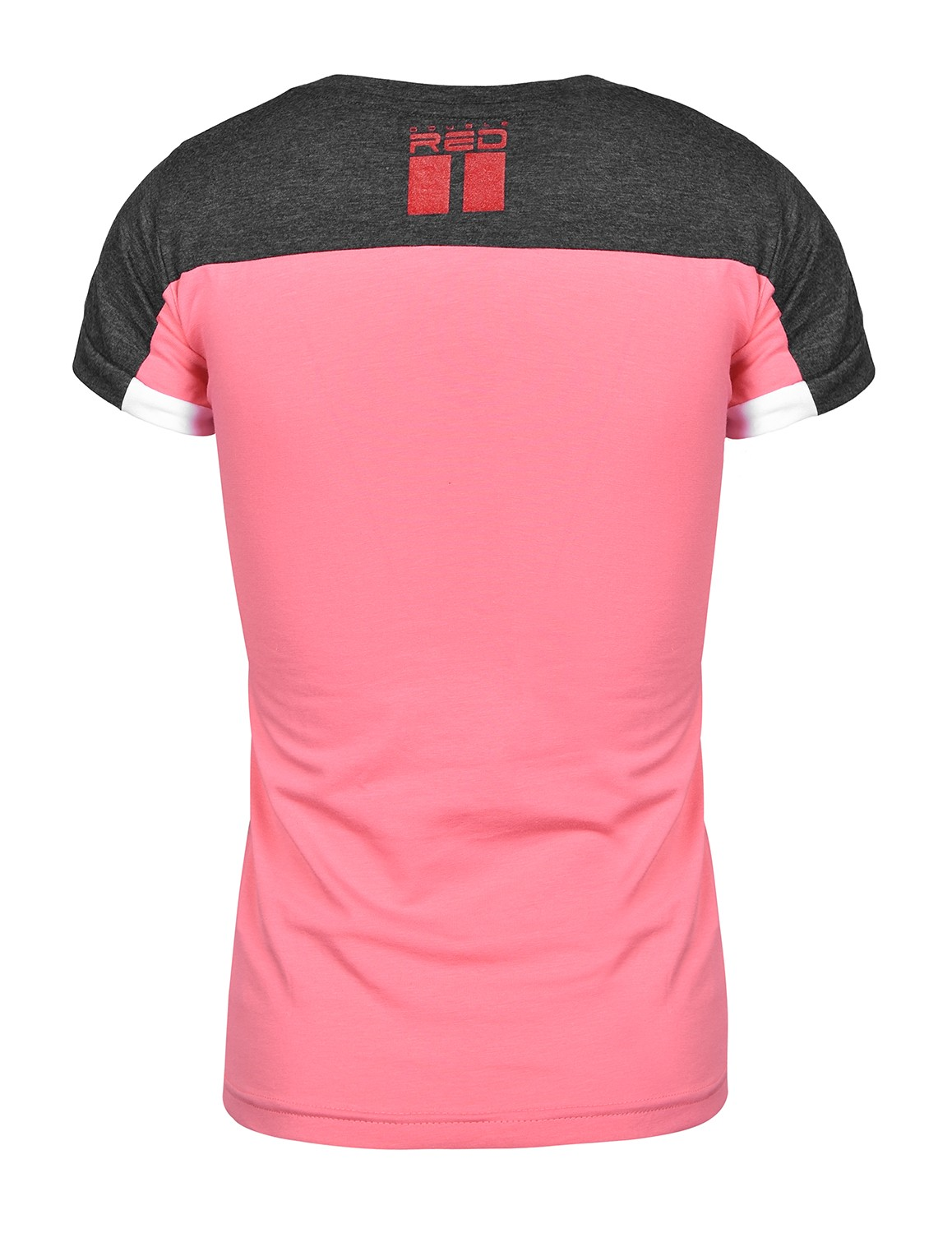 T-shirt GLORIOUS Grey/Pink