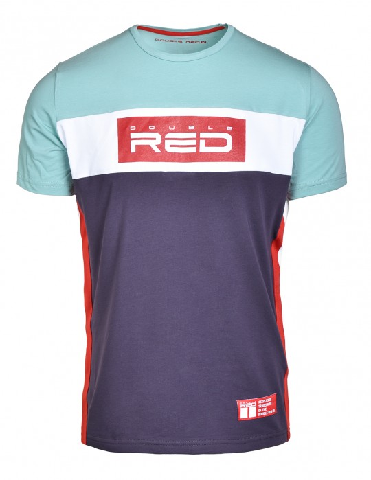 T-Shirt OUTSTANDING Turquoise/Violet