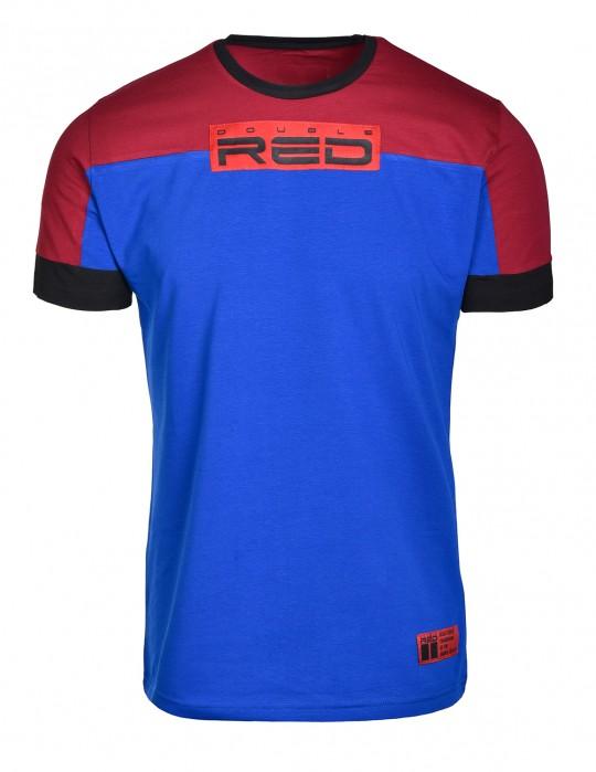 T-shirt GLORIOUS Bordeaux/Blue