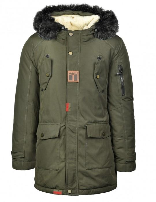 ALYESKA Parka Jacket Olive
