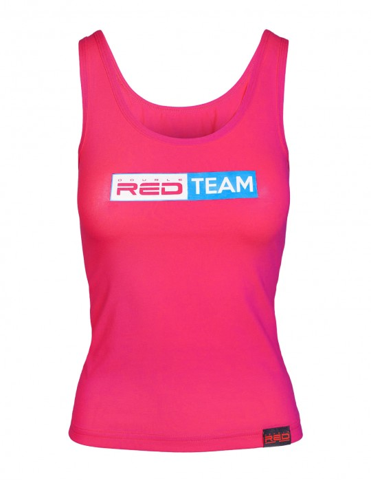 RED TEAM Tank Top Pink