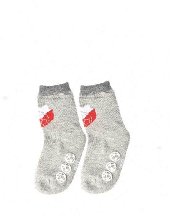 KID Fun Socks Sport Grey