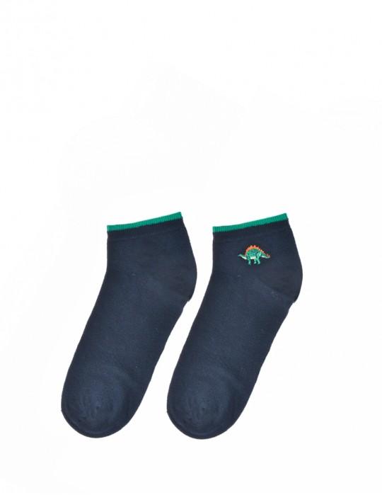 Men's FUN Low Cut Socks Dino