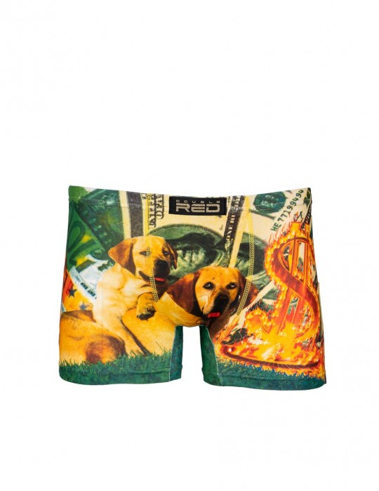 2FUN Boxers Rich Hot Dogs