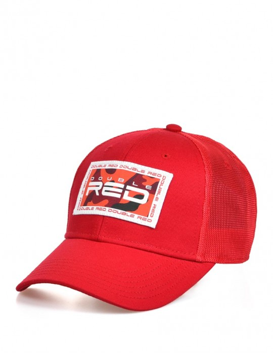 Camo Trademark Collection Cap Red