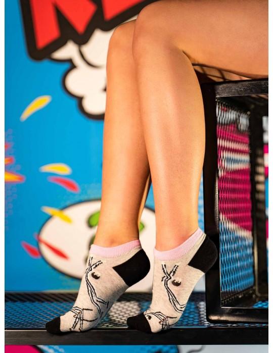 Women's Low Cut FUN Socks Gym